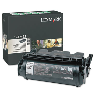 Lexmark 12A7362, 12A7460, 12A7462, 12A7468 Laser Cartridge
