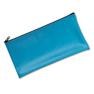 MMF Industries Leatherette Zippered Wallet