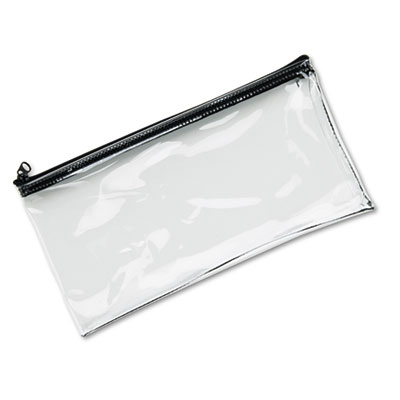 MMF Industries Clear Vinyl Zippered Wallet