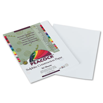 Pacon Peacock Sulphite Construction Paper