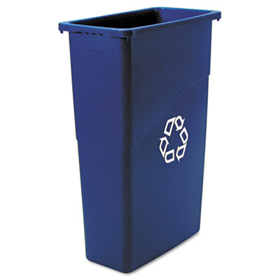 Rubbermaid Commercial Slim Jim Recycling Container