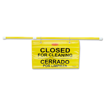 Rubbermaid Commercial Site Safety Hanging Sign