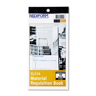 Rediform Material Requisition Book