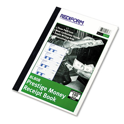 Rediform Prestige Money Receipt Book