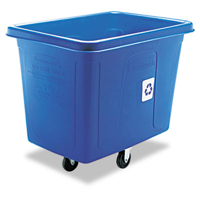 Rubbermaid Commercial Recycling Cube Truck