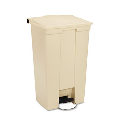 Rubbermaid Commercial Fire-Safe Step-On Receptacle