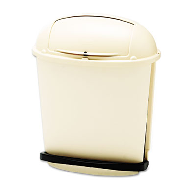 Rubbermaid Commercial Fire-Safe Pedal Rolltop Receptacle