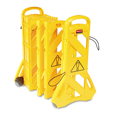 Rubbermaid Commercial Portable Mobile Safety Barrier