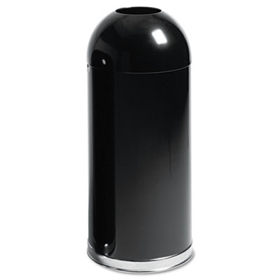 Rubbermaid Commercial European & Metallic Series Hands-Free Open Top Receptacle