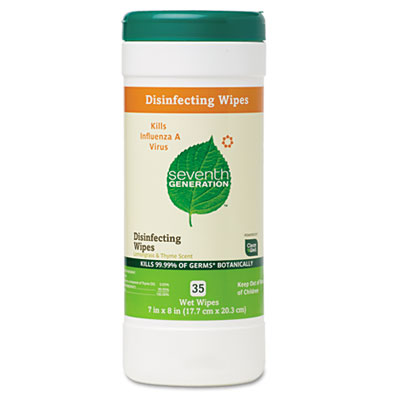 Seventh Generation Disinfecting and Cleaning Wipes