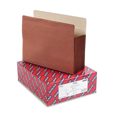 Smead Redrope TUFF Pocket Drop-Front File Pockets with Tyvek Lined Gussets