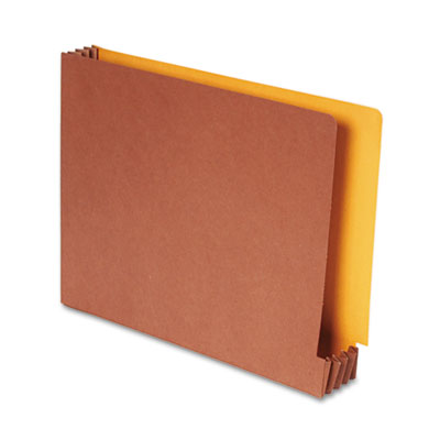 Smead Redrope File Pockets with Goldenrod Back
