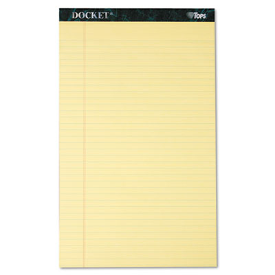 TOPS Docket Ruled Perforated Pads