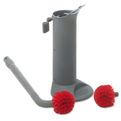 Unger Ergo Toilet Bowl Brush System with Holder