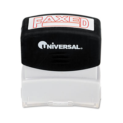 Universal Pre-Inked One-Color Stamp