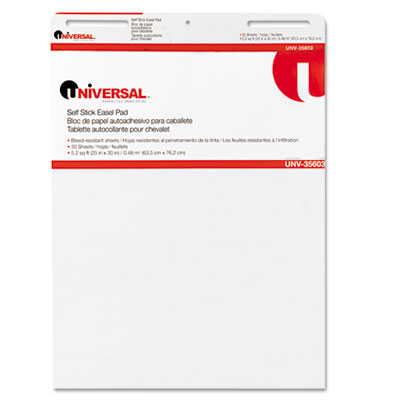 Universal One Self-Stick Easel Pad