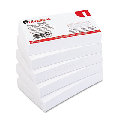 Universal Recycled Index Strong 2 Pt. Stock Cards