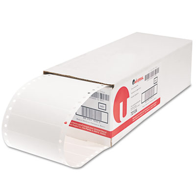 Universal Bulk Pack Dot Matrix Printer Labels
