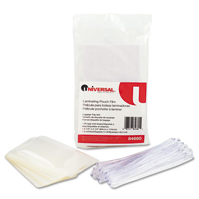 Universal Laminating Pouches