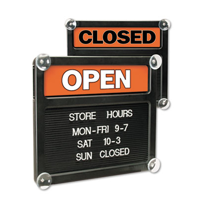 Headline Sign Double-Sided Open/Closed Sign