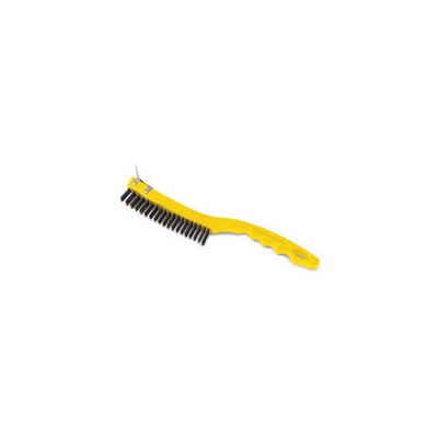 Rubbermaid Commercial Long Handle Wire Brush with Scraper