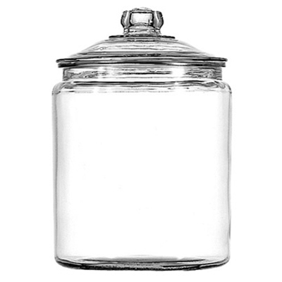 Anchor Heritage Hill Glass Jar with Lid