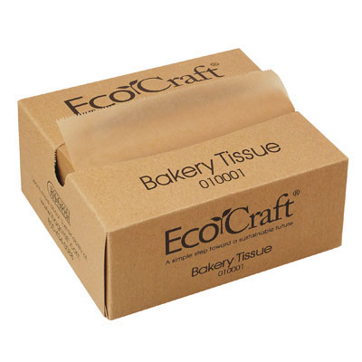 Bagcraft Papercon EcoCraft Interfolded Soy Wax Deli Sheets