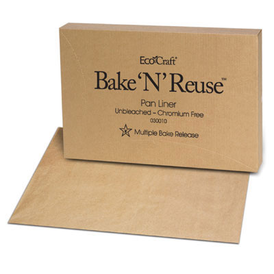 Bagcraft Papercon EcoCraft Bake 'N' Reuse Pan Liner