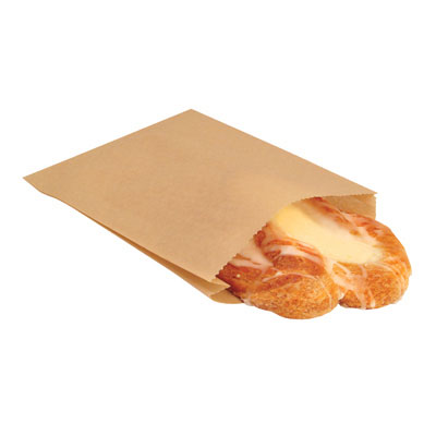 Bagcraft Papercon EcoCraft Grease-Resistant Sandwich Bags