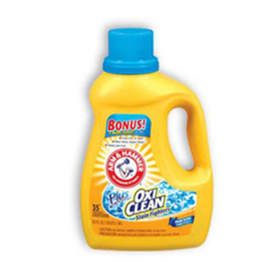 Arm & Hammer OxiClean Concentrated Liquid Laundry Detergent