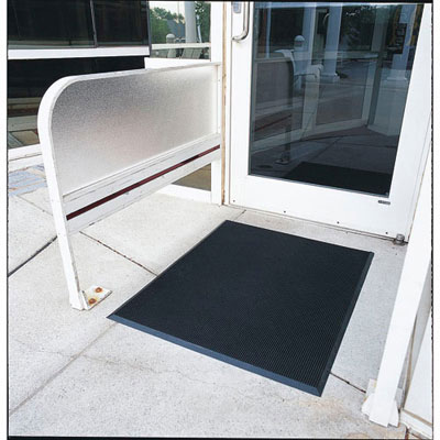 Crown Finger-Tip Indoor/Outdoor Scraper Mat