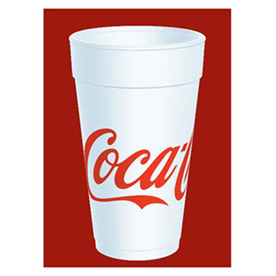 Dart Coca-Cola Foam Cups