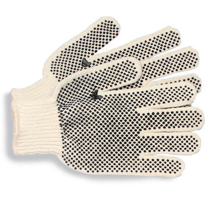 Boardwalk PVC-Dotted String Knit Utility Gloves