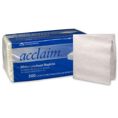 Georgia Pacific Professional acclaim Luncheon Napkins