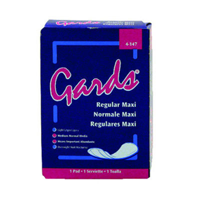 Hospital Specialty Co. Gards Maxi Pads