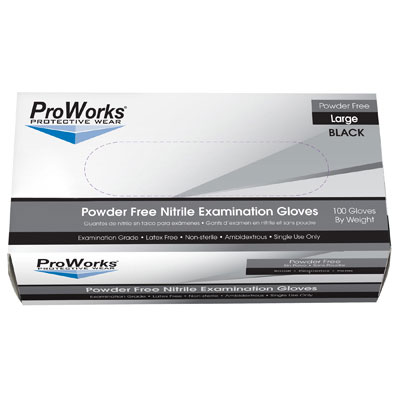 Hospital Specialty Co. ProWorks Blacknite Nitrile Gloves