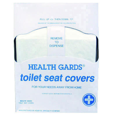 Hospital Specialty Co. Health Gards Quarter-Fold Toilet Seat Covers