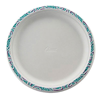 Chinet Classic White Premium Strength Molded Fiber Dinnerware