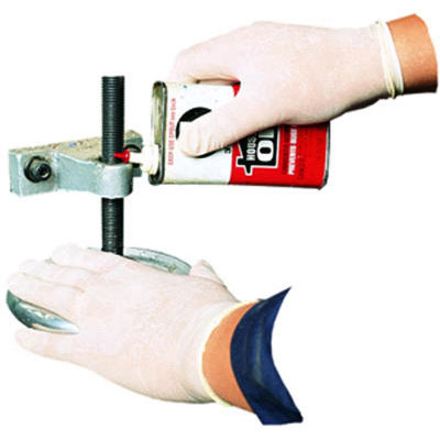 Impact Disposable Powdered Latex Gloves