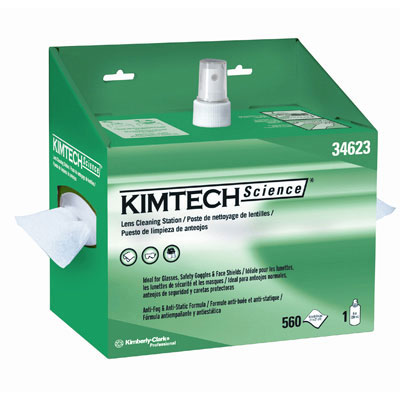 KIMBERLY-CLARK PROFESSIONAL* KIMTECH SCIENCE* KIMWIPES* Lens Cleaning Station