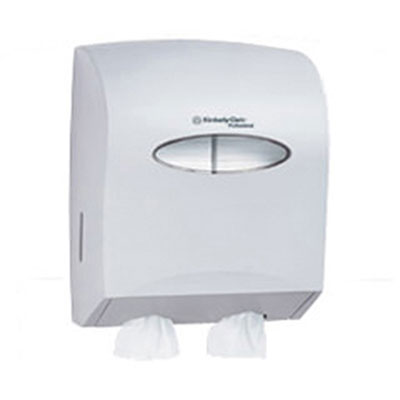 KIMBERLY-CLARK PROFESSIONAL* WINDOWS* Twin Hygienic Bath Tissue Dispenser