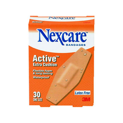 3M Nexcare Active Extra Cushion Flexible Foam Bandages