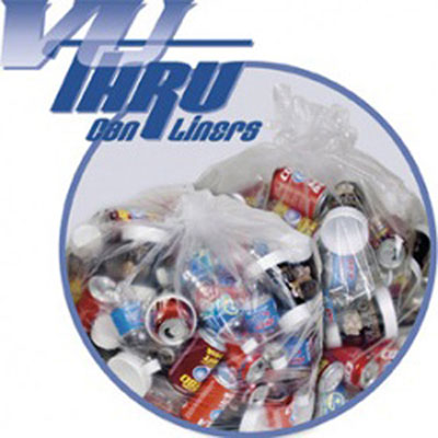 Pitt Plastics Vu-Thru Low Density Can Liners
