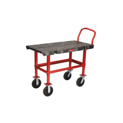 Rubbermaid Commercial Bench-Height Platform Truck