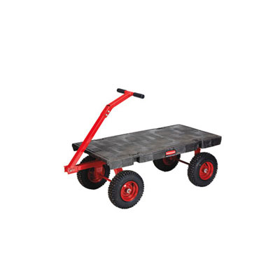 Rubbermaid Commercial Fifth-Wheel Wagon Truck