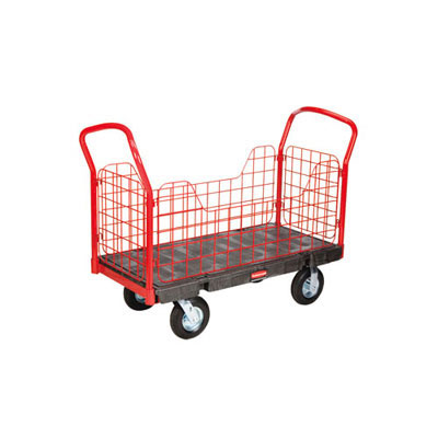 Rubbermaid Commercial Side-Panel Platform Truck