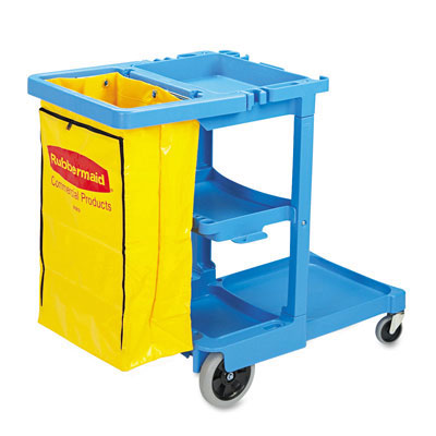 Rubbermaid Commercial Multi-Shelf Cleaning Cart