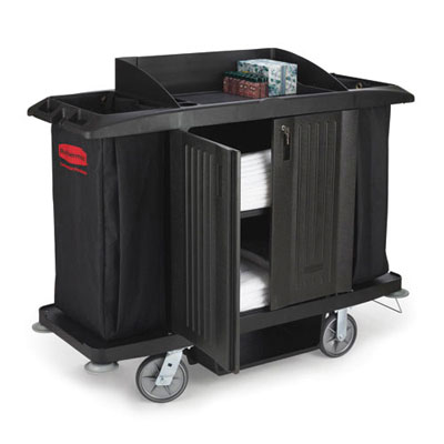 Rubbermaid Commercial Full-Size Housekeeping Cart