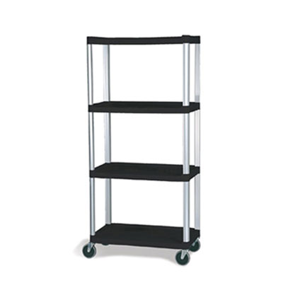 Rubbermaid Commercial Mobile Shelf Truck