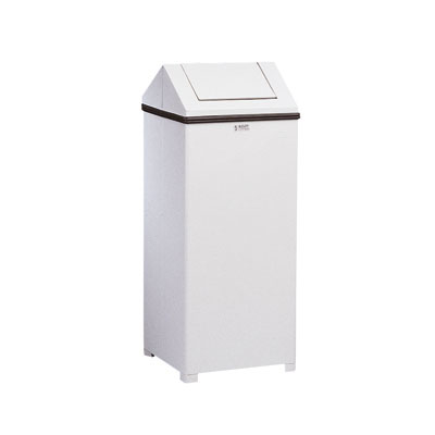 Rubbermaid Commercial WasteMaster Hinged-Top Waste Receptacle